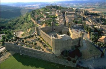 Montalcino and Abbey of St. Antimo
